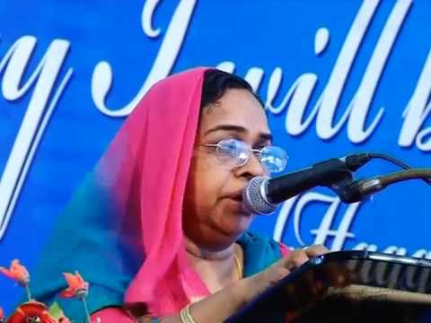 Sis. Santha Sunder Singh Malayalam Christian Speech Prayer Gardens, Neyyattinkara Part-1 video