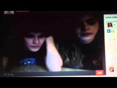 Devon Werkheiser and Gia Mantegna went Live Streaming