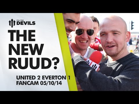 The New Ruud?   Manchester United 2 Everton 1   FANCAM