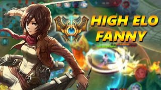 FANNY HIGH ELO CRAZY GAMEPLAY - Mobile Legends