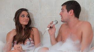 Elodie (Les princes de l'amour) dans le bain de Jeremstar - INTERVIEW