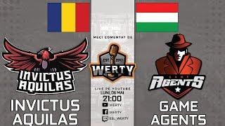 (RO CS:GO) INVICTUS AQUILAS (RO) vs. GAME AGENTS (HU) - ESPORTS BALKAN LEAGUE