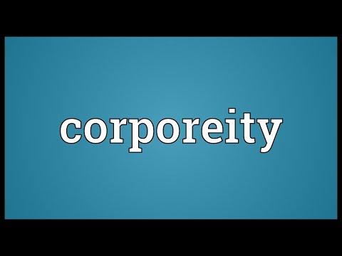 Header of corporeity