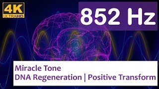 852 Hz | Let Go of Fear, Overthinking & Worries | Remove Bad Energy | Awaken Intuition | Solfeggio