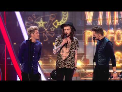 Royal Variety One Direction interview