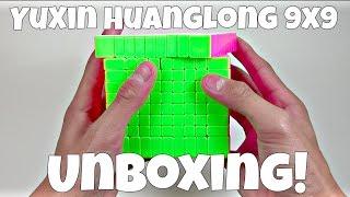 Yuxin Huanglong 9x9 Unboxing!