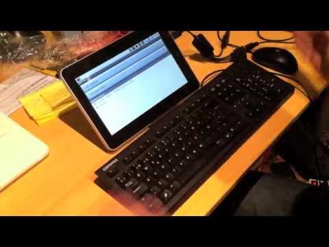 Conectar un teclado y un raton por usb a un Apad. Epad Tablet Android
