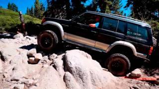 Mitsubishi Conquers Rubicon - Part 1 : The Rubicon Trail
