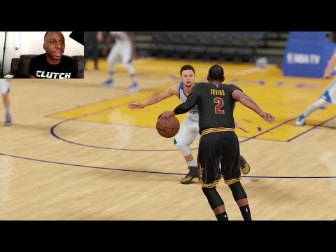 Can I Recreate Kyrie Irving's Game Winning 3PT Shot over Stephen Curry in Game 7 of the NBA Finals