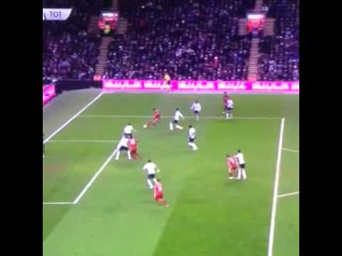 Mario Balotelli Goal!!! Liverpool v Spurs 3-2
