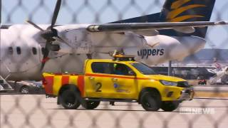 Airport Accident | 9 News Perth