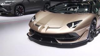Lamborghini's live event from Geneva International Motor Show 2019