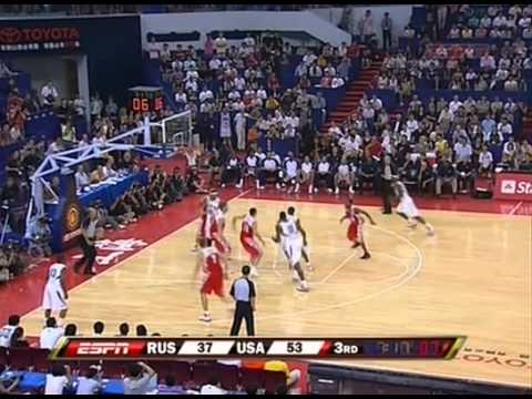 Kobe Bryant Highlights Vs Russia [olympic Games 08 03 2008] video