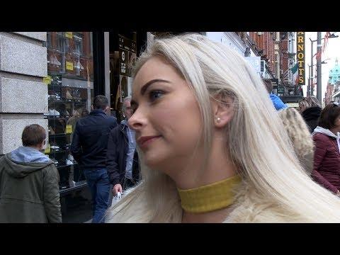 Irish Fears: legalization of abortion in Ireland. Street interviews in Dublin. Family friendly.