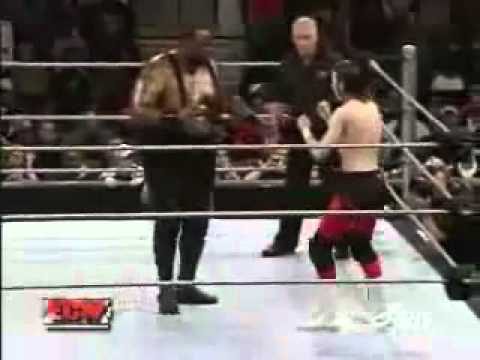 Wwe Ecw  Big Daddy V Vs Colin Delaney 1.1.08 video