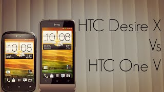 HTC Desire X Vs One V Form Factor Price Features Comparison