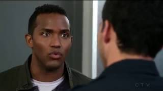 Jay Hayden / Travis & Grant (gay scene #4) - Station 19 (TV Series)