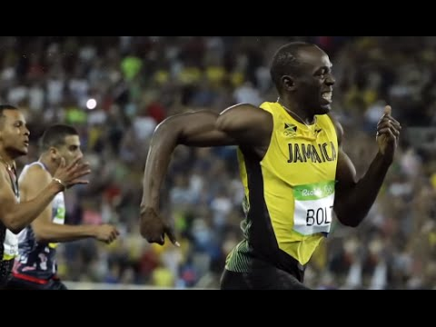Usain Bolt Sprints Into History in Rio