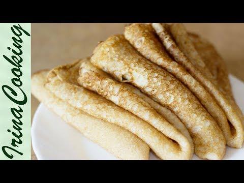 Заварные БЛИНЫ на СЫВОРОТКЕ тонкие ○ Как приготовить ОЧЕНЬ ВКУСНЫЕ БЛИНЫ   The Thin Custard Pancakes