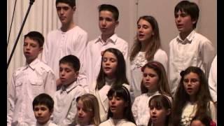Koncert dečjeg hora Hrišćanske adventističke crkve u Beogradu