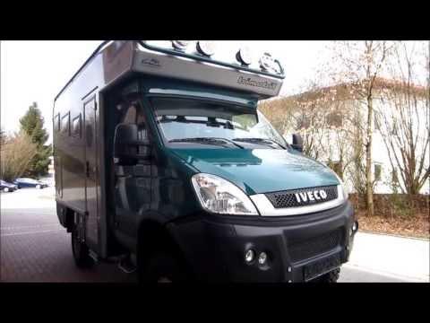4x4 bimobil overland campervan Iveco EX 345