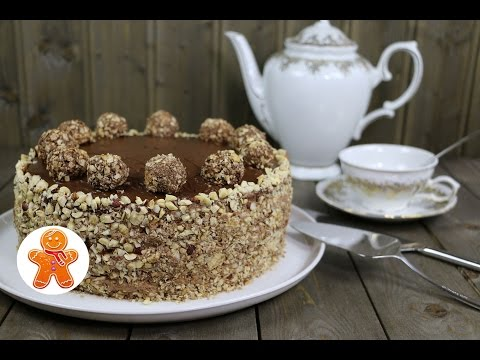 "Торт ""Ферреро Роше"" ✧ Ferrero Rocher Cake (English Subtitles)"