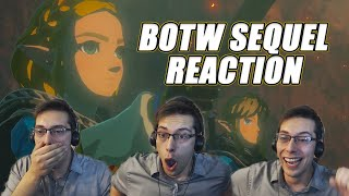 Zelda Breath of the Wild Sequel Trailer Reaction (BOTW 2)