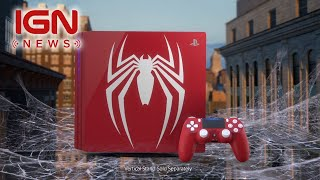 Limited Edition Spider-Man PS4 Pro Bundle Announced - Comic-Con 2018