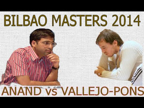 Vishy Anand vs Francisco Vallejo-Pons Bilbao Masters (2014)  ·  Queen's Gambit Accepted