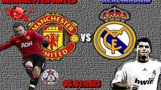 MANCHESTER UNITED vs REAL MADRID 1-2 05.03.20131/8 Champions League