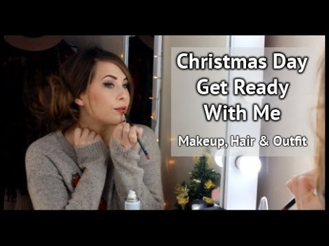 Christmas Day Get Ready With Me   xameliax