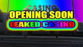 GTA 5 DLC - Leaked Interior Casino Glitch! (GTA V Glitches & GTA 5 Online)
