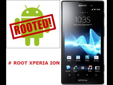 How to root Sony Xperia ion   Xperia Z.ZL.ion.S.SL.P.SP