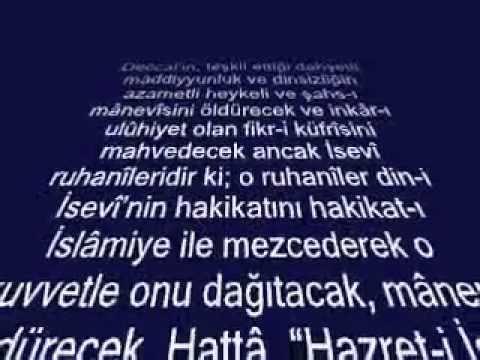 Risale-i Nur'da Hz.Mehdi ve Hz.İsa (A.S)