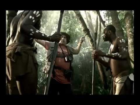 Parle Eclairs Candy Funny advt - Tribal attac...
