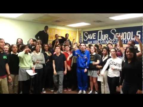 Newark Student Walk Out- Tuesday April 9 2013