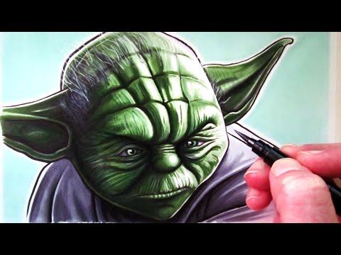 Let's Draw Yoda - FAN ART FRIDAY