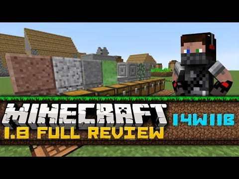 Minecraft 1.8 Full Review