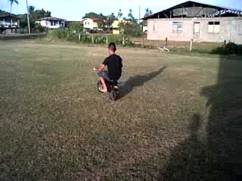 50cc Dirt Bike Test