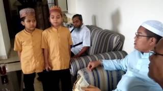 Ust Dr. Firanda Andirja, Lc. MA,  Ngetes Hafalan Anak Santri De Muttaqin jogja