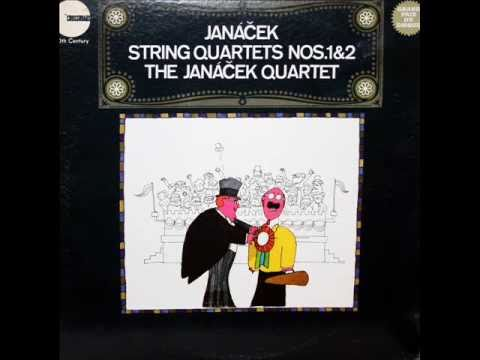 Leoš Janáček / The Janáček Quartet, 1966: String Quartet No. 1 -