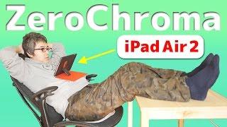 やっぱ、ゼロクロマのケースいいわ…。ゼロクロマ iPad Air 1/Air 2用ケースがやってきた!