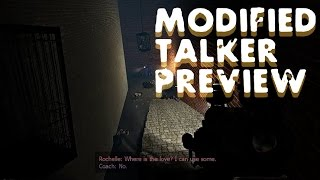 L4Dε Modified Talker Preview - Tour of Terror