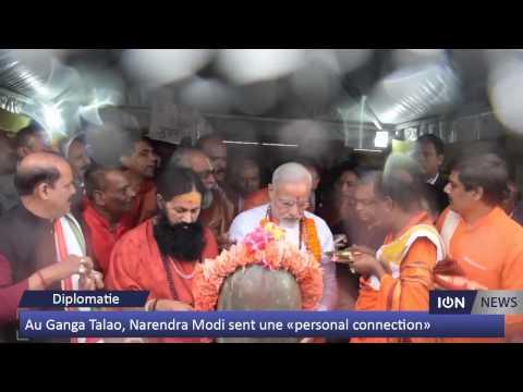 Au Ganga Talao, Narendra Modi sent une «personal connection»