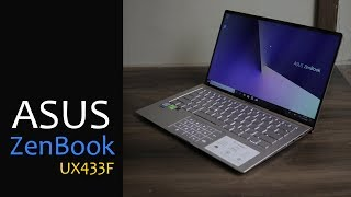 Asus Zenbook UX433F unboxing - Zenbook with Numeric Pad on the TouchPad