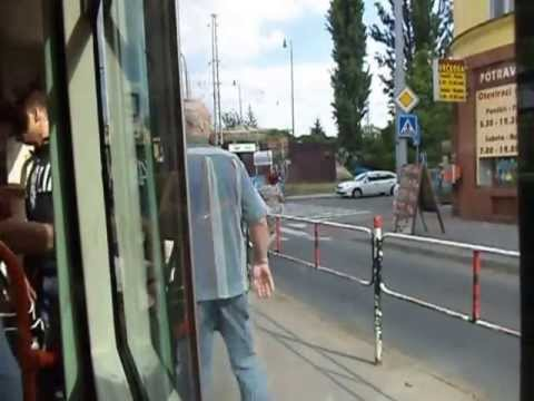 Brno City (Czech Republic) Tour in Tram - City View  by Dinesh Pathak  14-05-2013
