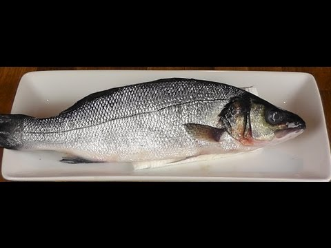 How to Fillet whole Branzino - How to Gut a fish - Fillet a Branzino - Cooking Classes