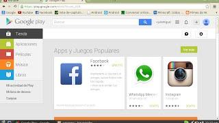 Como descargar Aplicacion de Play Store en tu Pc sin programas 1.23 MB