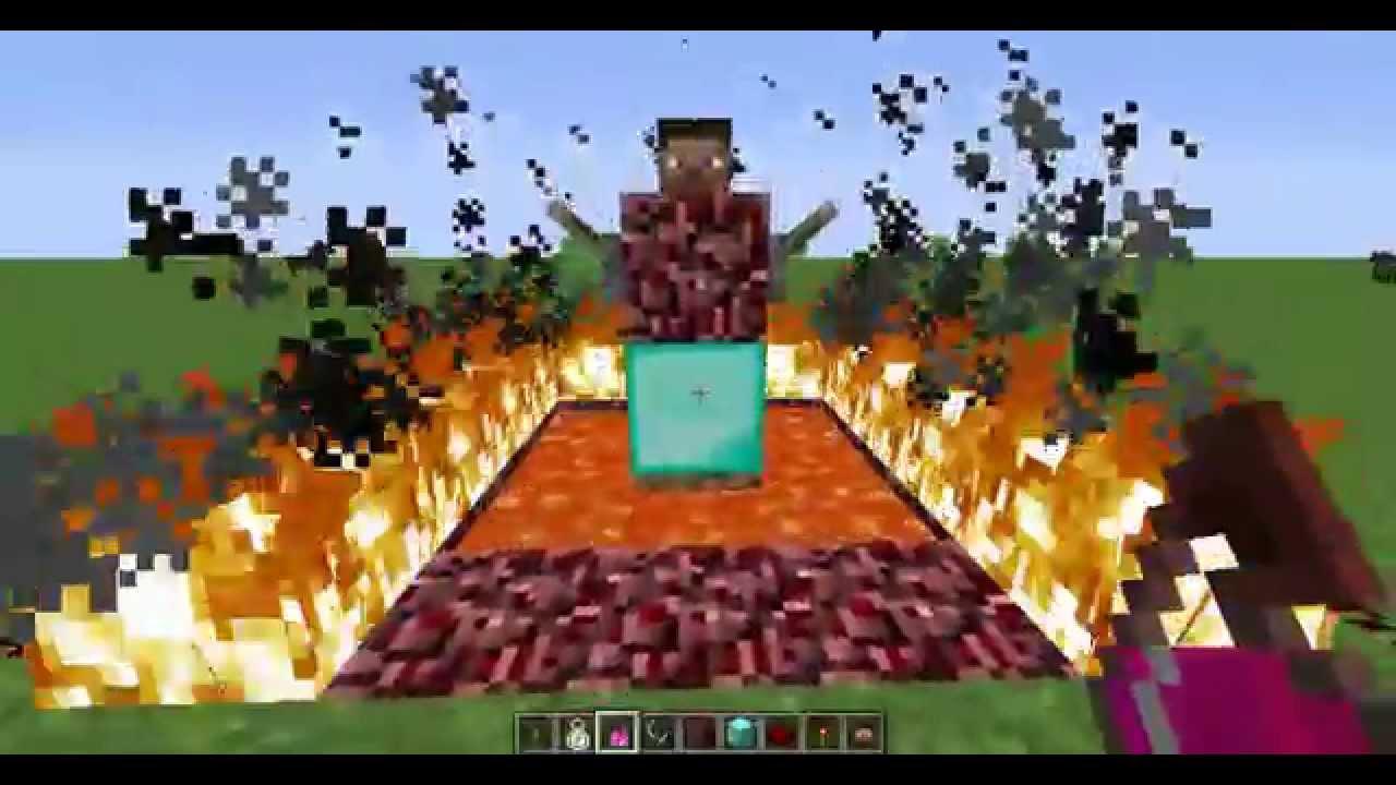 Как сделать в minecraft херобрина