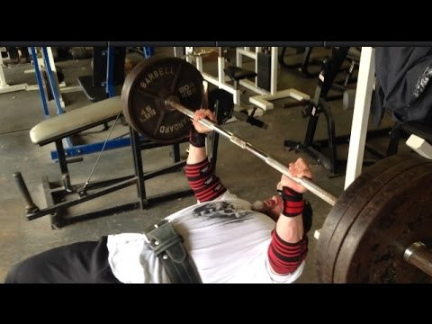 315lbs Bench x 10 Reps with a Pause!  Chest at INTENSITYVILLE!!